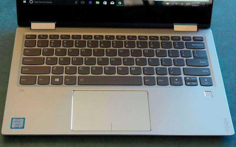 Клавиатура и тачпад Lenovo Yoga 720 13