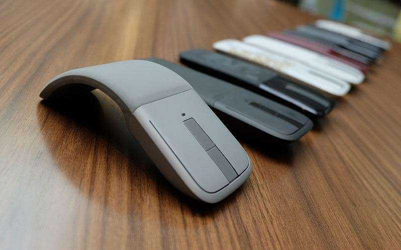 Дизайн Microsoft Arch Touch Bluetooth Mouse