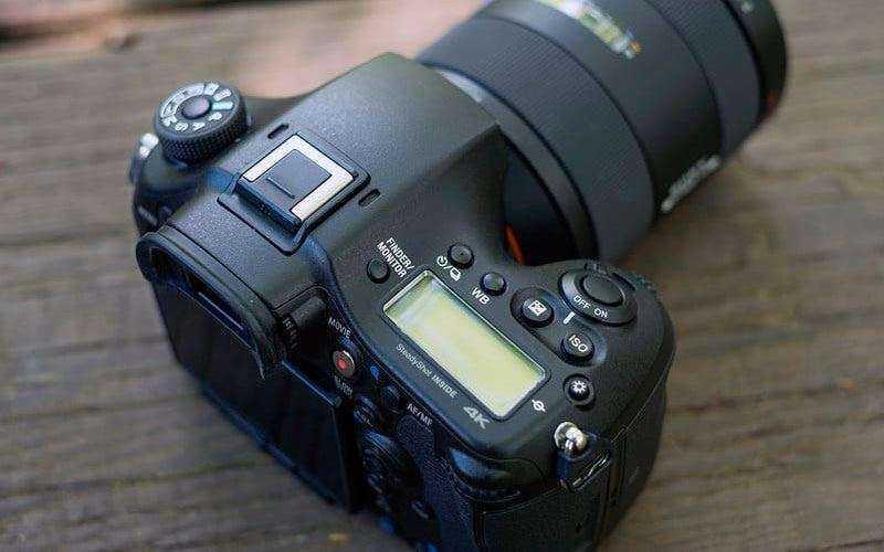Дизайн Sony A99 Mark II