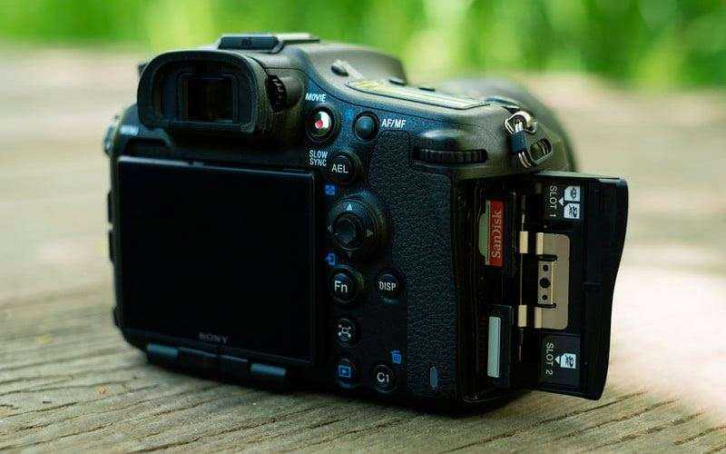 Обзор Sony A99 Mark II