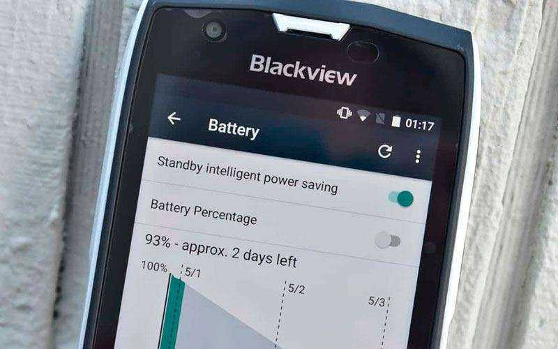 Батарея в Камера Blackview BV7000 Pro