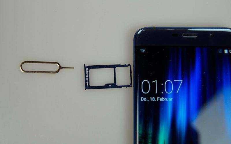 Elephone S7 Mini подключение