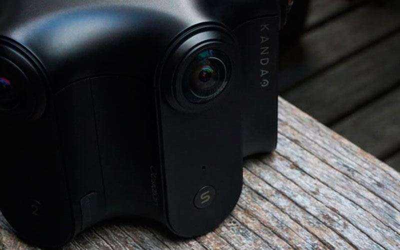 Камера 360-градусов Kanado Obsidian