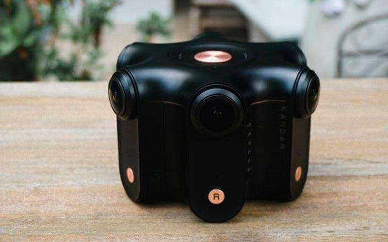 Kanado Obsidian 360-дюймовой камере Facebook готовая для съёмки