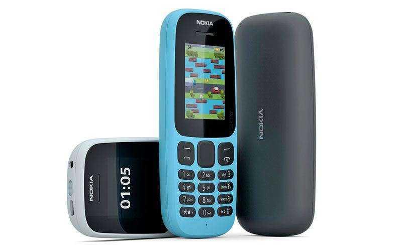 Новые телефоны Nokia 105 и Nokia 130 официально представлены