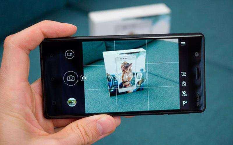 Камера Nokia 3