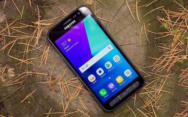 Дизайн и дисплей Samsung Galaxy Xcover 4