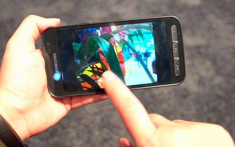 Камера Samsung Galaxy Xcover 4