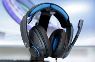 Обзор Sennheiser GSP 300 — Гарнитура с хорошим качеством и звуком