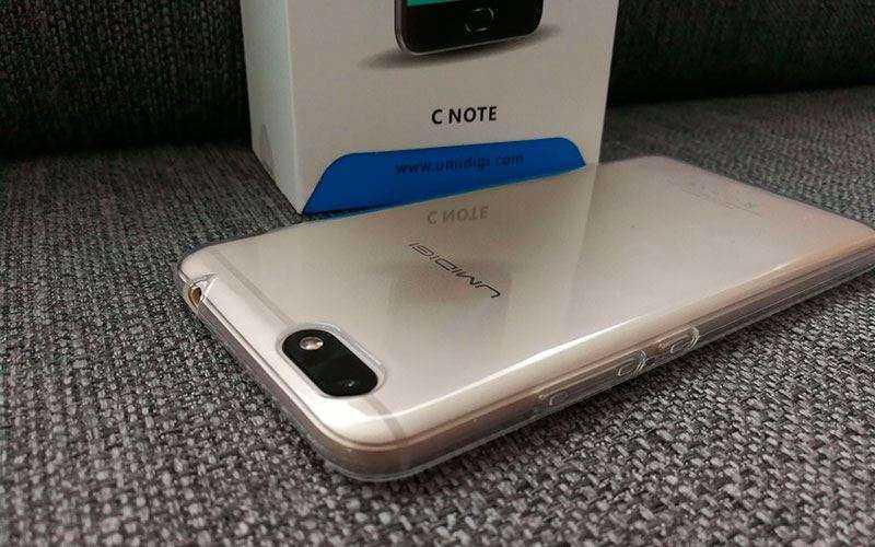Недорогой китайский телефон Umidigi C Note — Отзывы TehnObzor