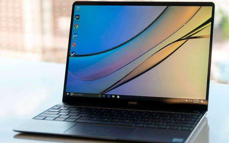 Обзор Huawei Matebook X WT-W09 — Тонкий ноутбук без компромиссов