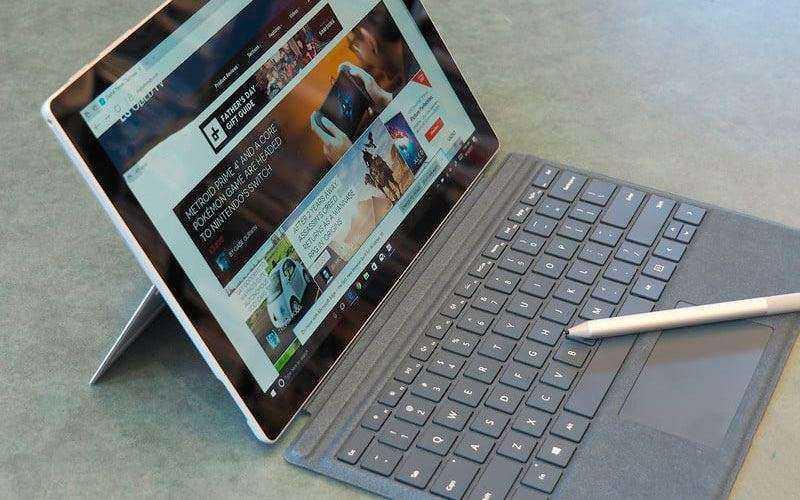 Тест Microsoft Surface Pro (2017)