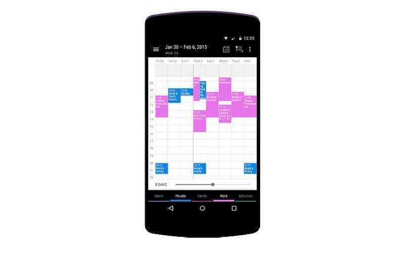 Business Calendar 2 — Деловой календарь 2