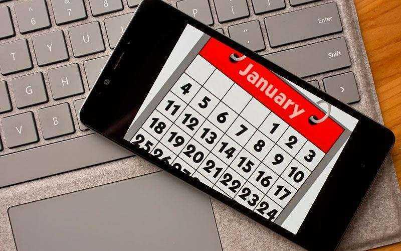 10 лучших приложений календарь для ОС Android и IOS