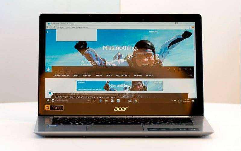 Экран Acer Swift 3
