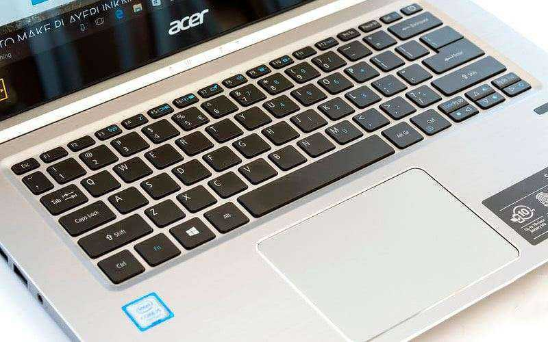 Клавиатура Acer Swift 3