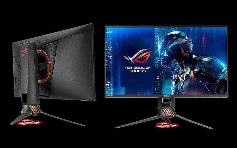 Новая линейка игровых мониторов Asus Strix XG27VQ для геймеров