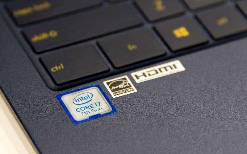 Процессор Asus ZenBook 3 Deluxe