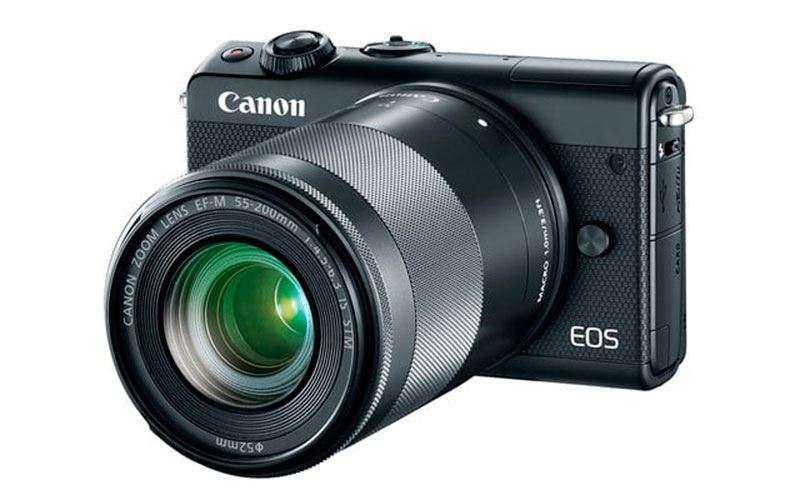 Новая компактная камера Canon EOS M100