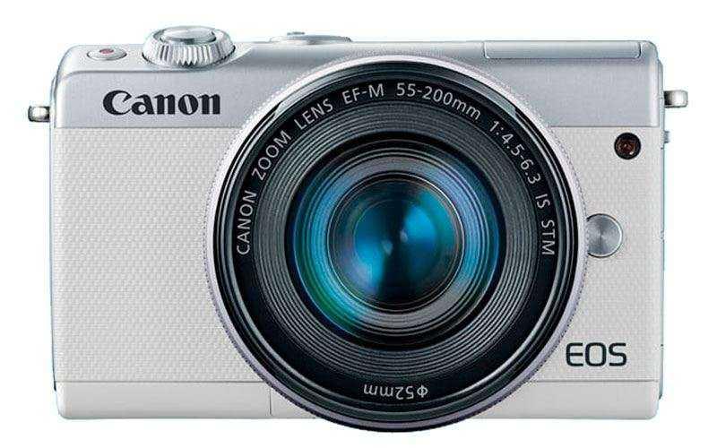 Canon EOS M100 — Маленькая и доступная камера с 24-МП датчиком