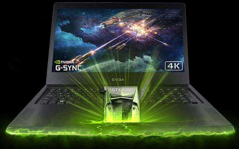 Новый игровой ноутбук EVGA SC17 приносит мощь GTX 1080 в мобильном формате