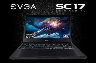 Игровой ноутбук EVGA SC17 принёс GTX 1080 в мобильном формате