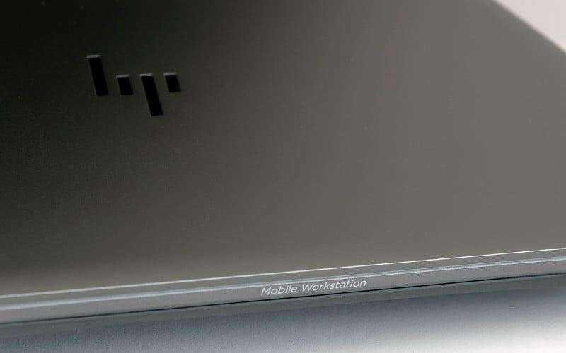 Дизайн HP ZBook Studio G4