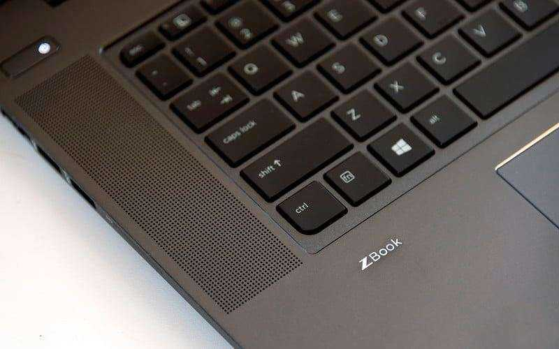 Тест HP ZBook Studio G4