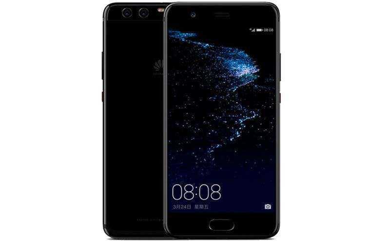 Новый яркий чёрный Huawei P10 Plus