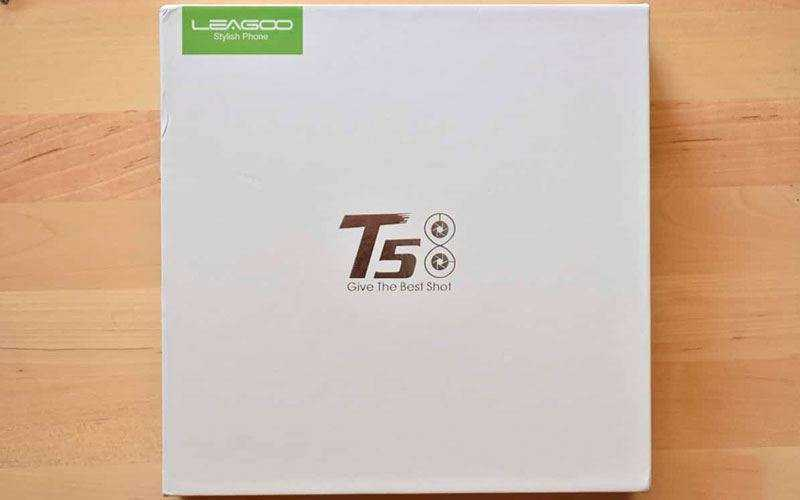 Leagoo T5 из коробки