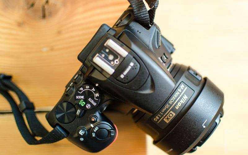 Зеркальная компакт камера Nikon D5600 — Отзывы