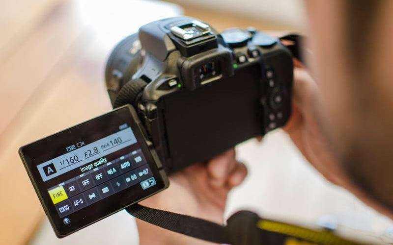 Производительность Nikon D5600