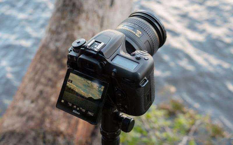 Съемка фото Nikon D7500