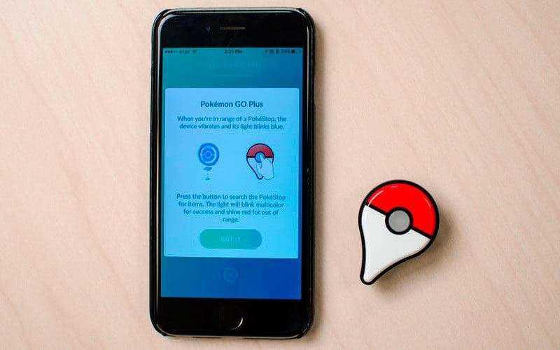 Настройка Pokemon Go Plus
