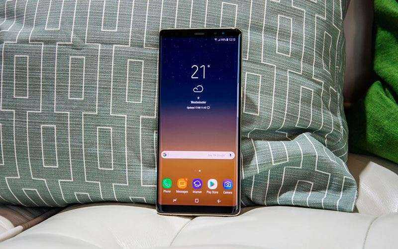 Тест Samsung Galaxy Note 8