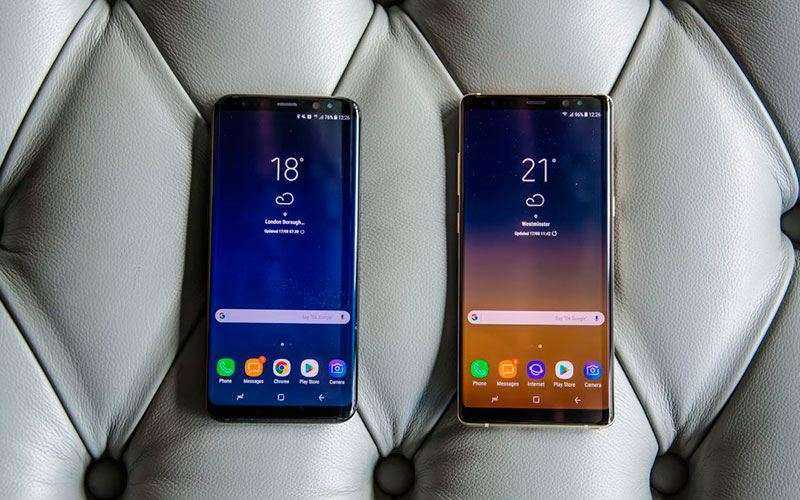 Samsung Galaxy Note 8 vs Samsung Galaxy S8 Plus