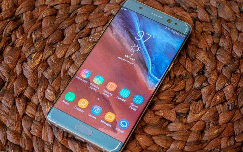 Дизайн Samsung Galaxy Note FE (Fan Edition)