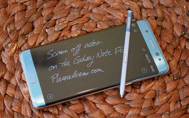 Стилус Samsung Galaxy Note FE (Fan Edition)