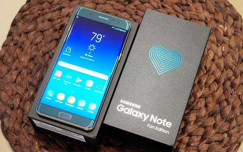 Экран Samsung Galaxy Note FE (Fan Edition)