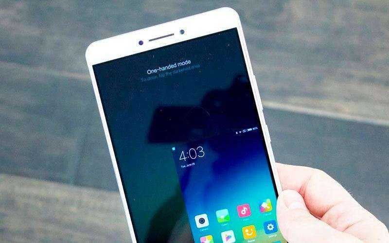 Интерфейс Xiaomi Mi Max 2