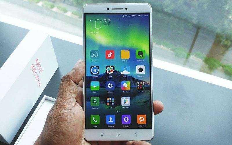 Xiaomi Mi Max 2 мультимедиа