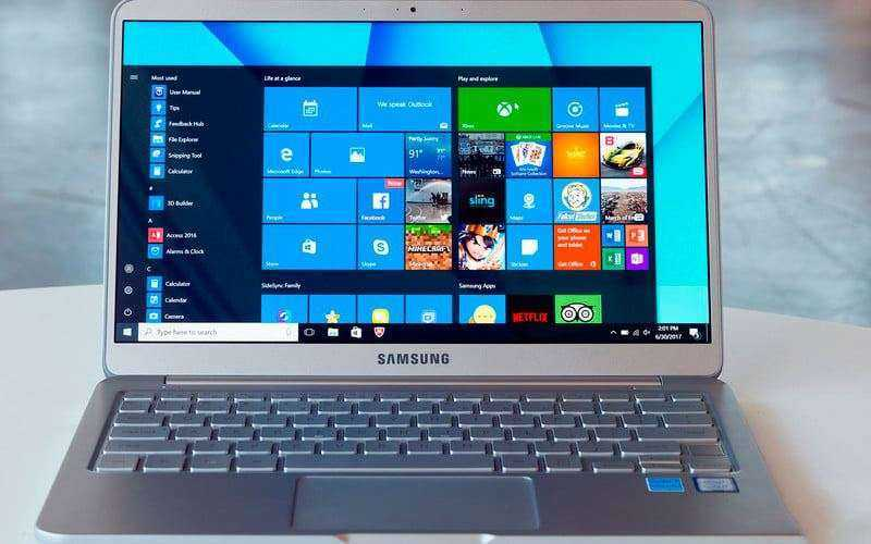 Экран Samsung Notebook 9