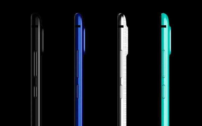 Новый безрамочный телефон Sharp Aquos S2