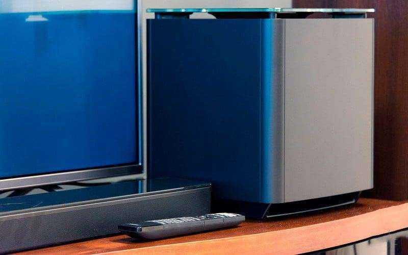 Bose SoundTouch 300 и Bose Acoustimass 300 из коробки