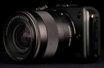 Canon EOS M — Обзор беззеркальной камеры от Canon