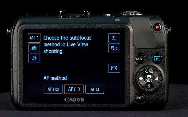 ПО камеры Canon EOS M