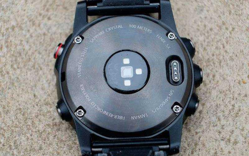 Батарея в Garmin Fenix 5