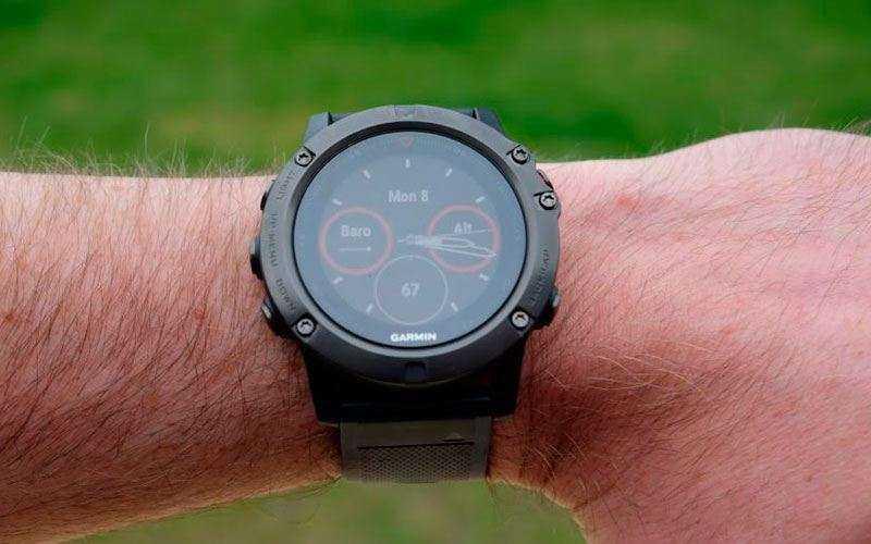 Обзор Garmin Fenix 5X — Мультиспортивные смарт-часы с GPS