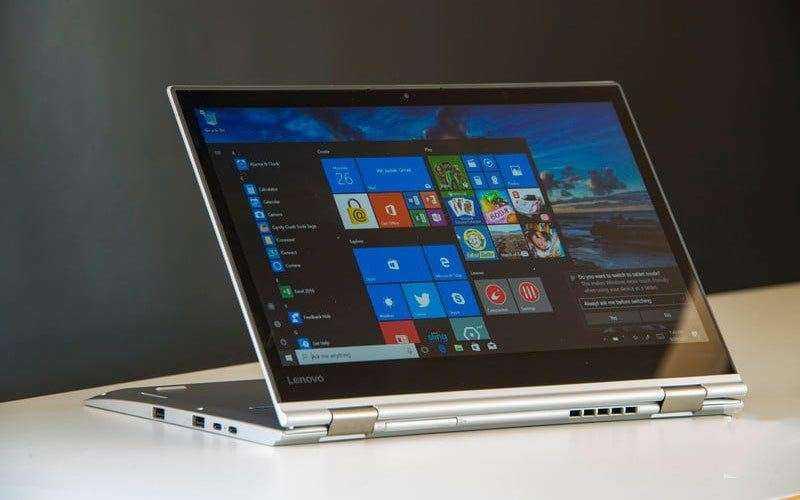 Дизайн Lenovo ThinkPad X1 Yoga