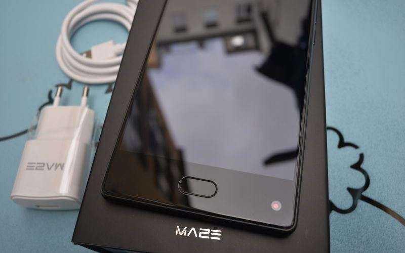 Обзор Maze Alpha — Дешёвый и производительный телефон почти без рамок